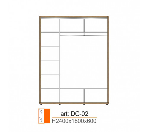 Dulap Cupe DC-02