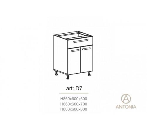 Bucatarie modul D7
